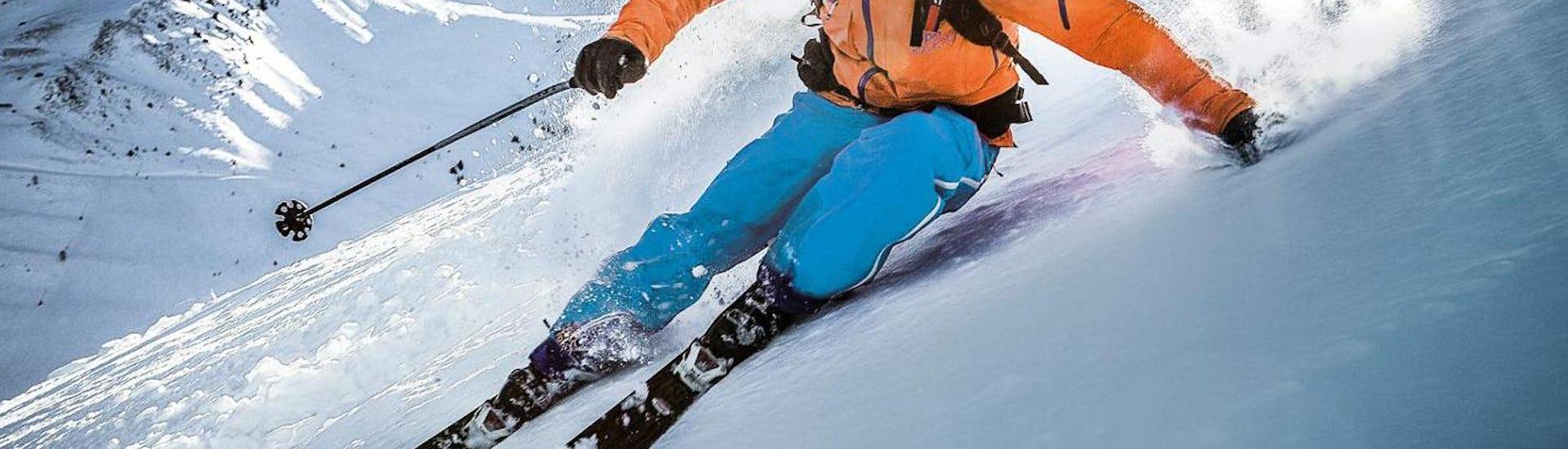 Alpine skiing technique lessons