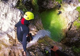 Extreme Canyoning in the Fratarca Gorge with TOP Rafting Bovec