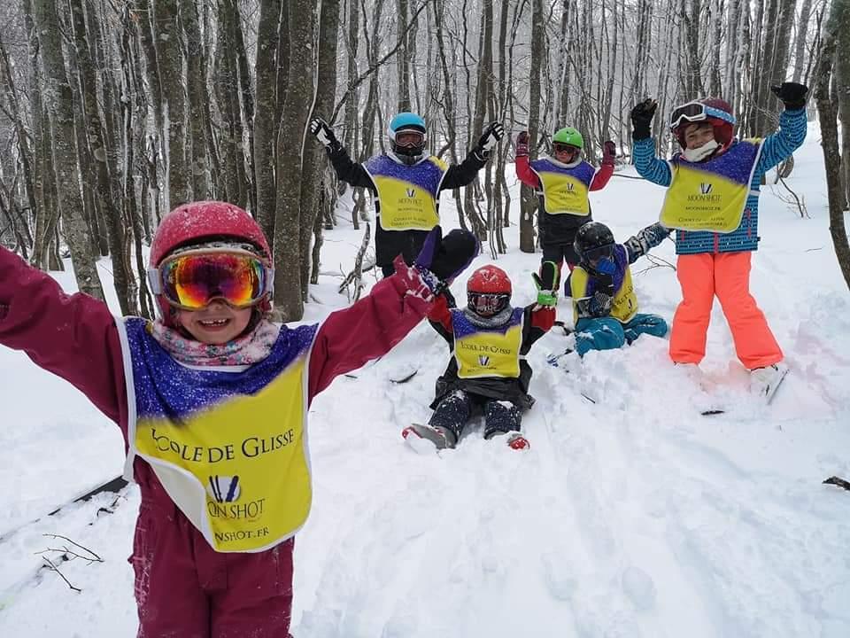 Lezioni di sci per bambini a partire da 8 anni principianti assoluti