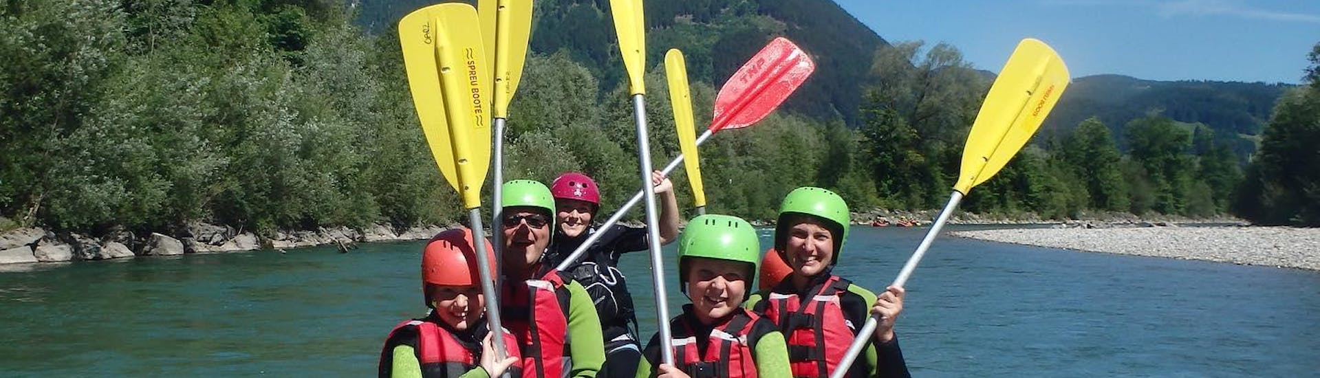 Rafting for Families - Iller