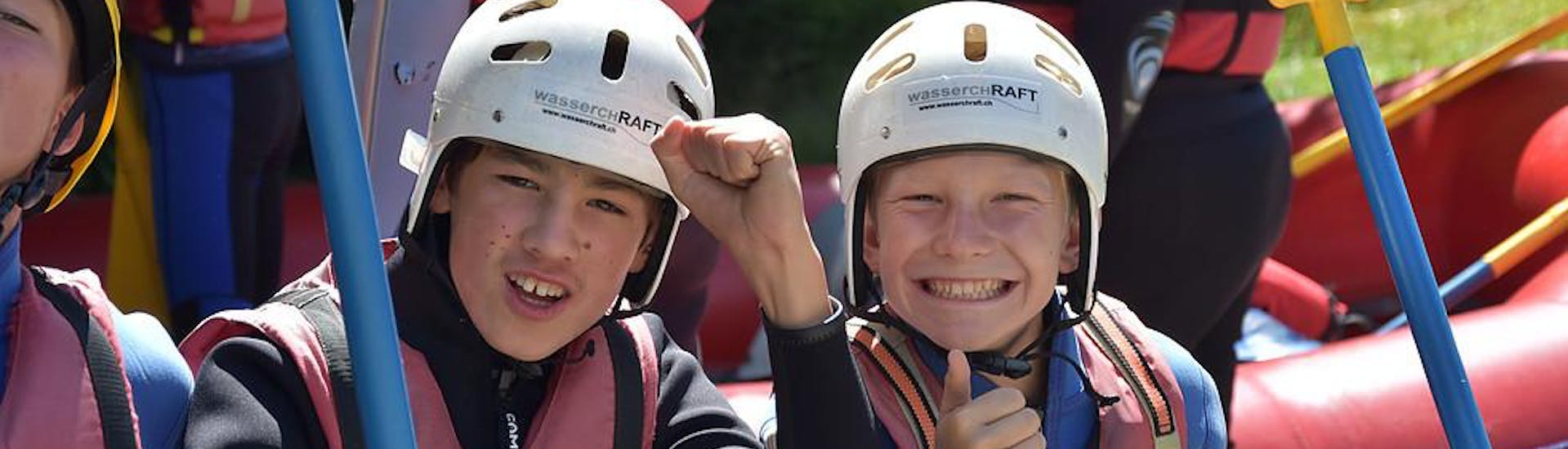 Rafting Day-Tour for Young and Old - Vorderrhein
