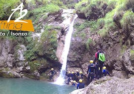Canyoning in the Sušec Canyon