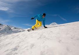 Snowboardlessen - licht gevorderd met Skischool Dobbiaco-Toblach