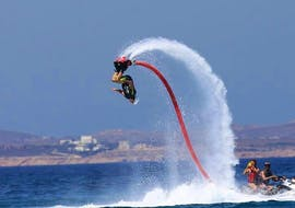 Flyboarding at Saint George Beach - Naxos