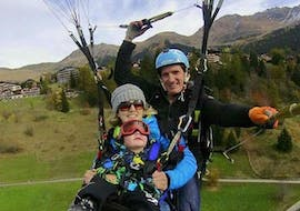 Tandem Paragliding in Verbier - Classic