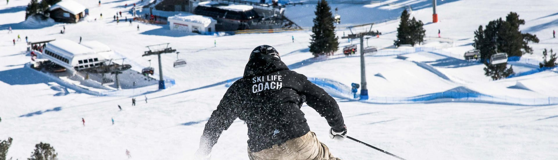"""Private Ski Lessons """"Early morning skiing"""" with Omar Bianchi - Hero image"""