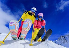 Skileraar Privé voor kinderen - Alle leeftijden