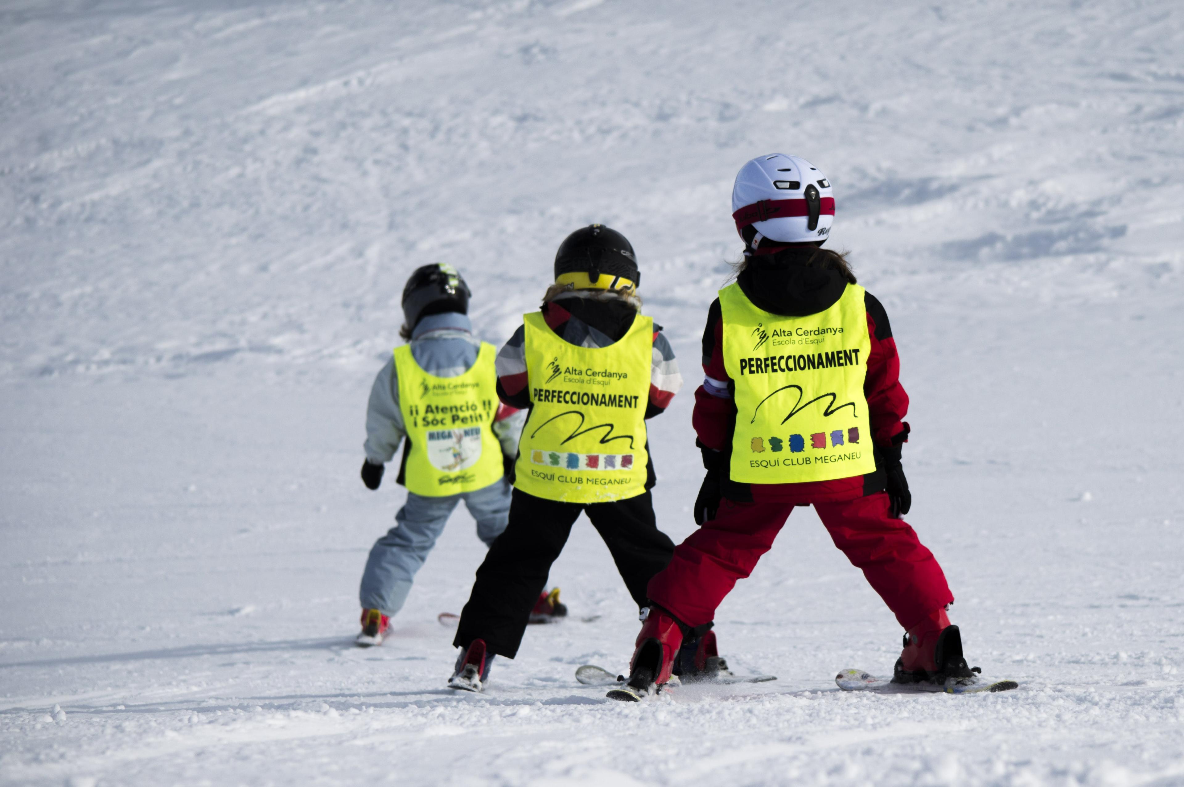 Clases de esquí (4-6 años) para Principiantes- Fin de semana