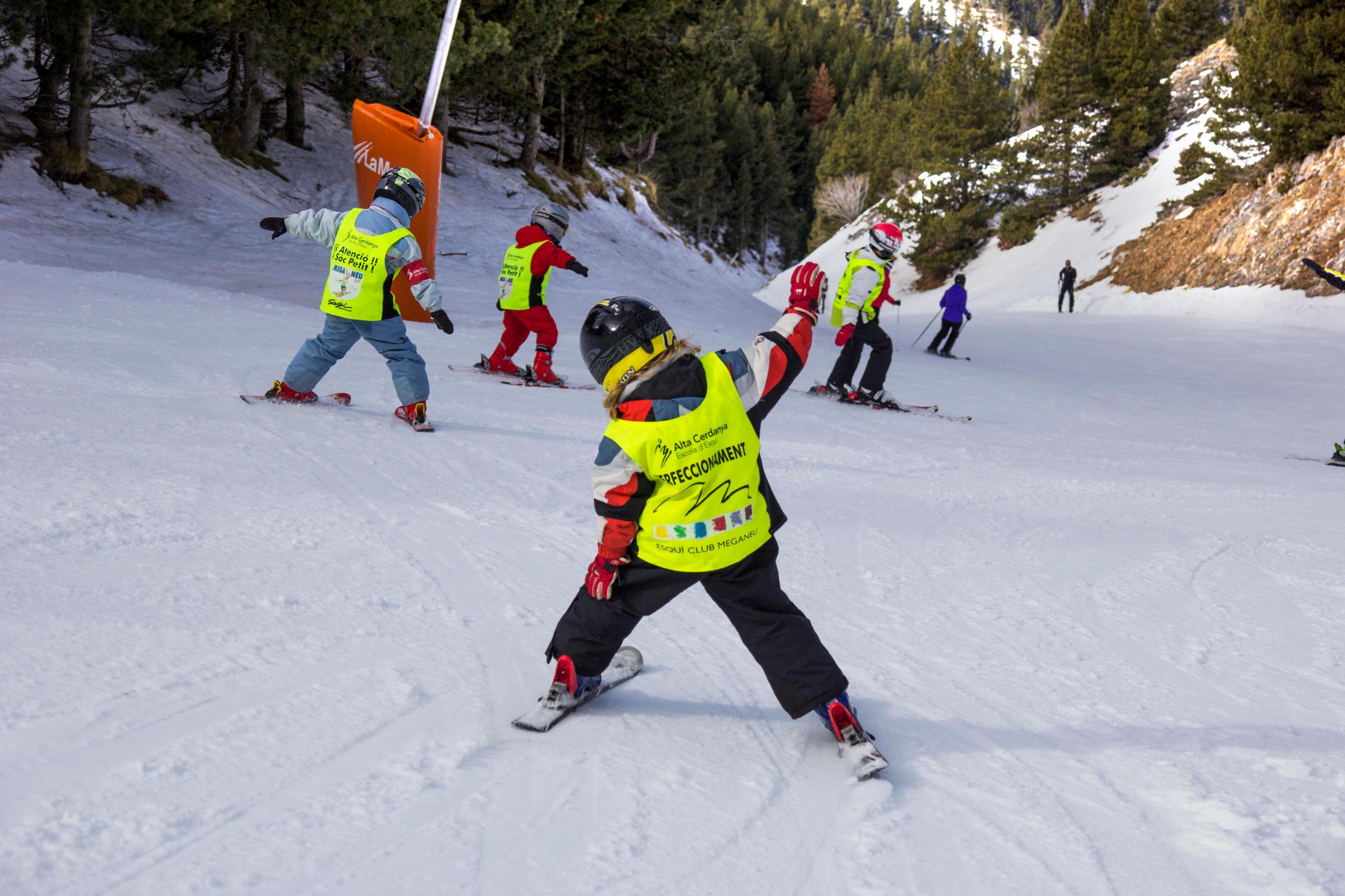 Clases Particulares de Esquí para Niños (3-14 años)