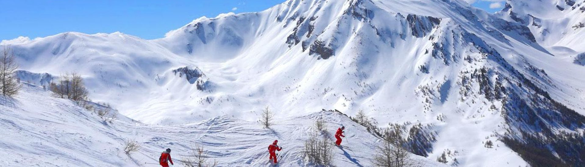 Freestyle Skiing Lessons - Advanced