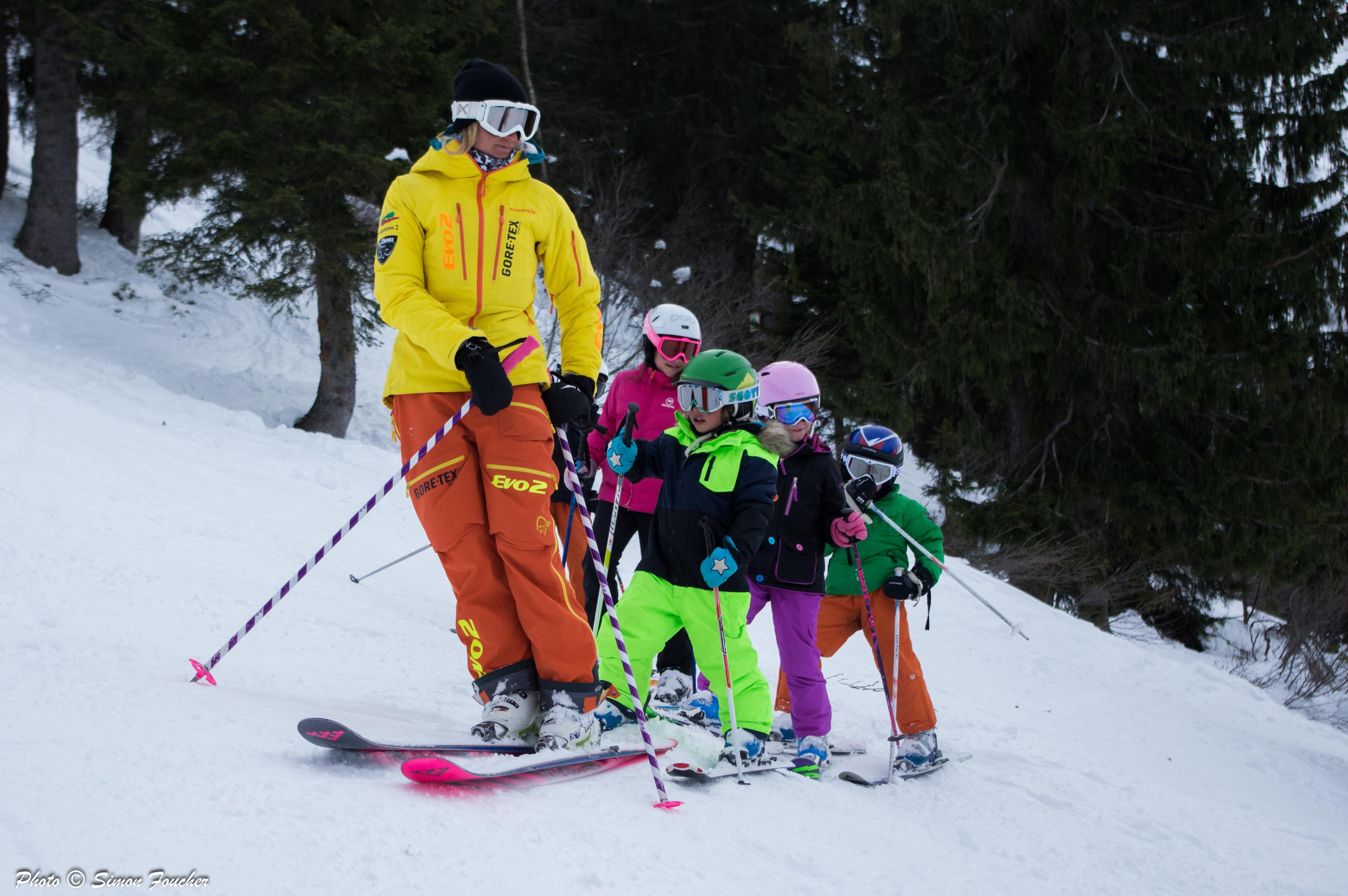 Clases de esquí para niños a partir de 4 años para debutantes