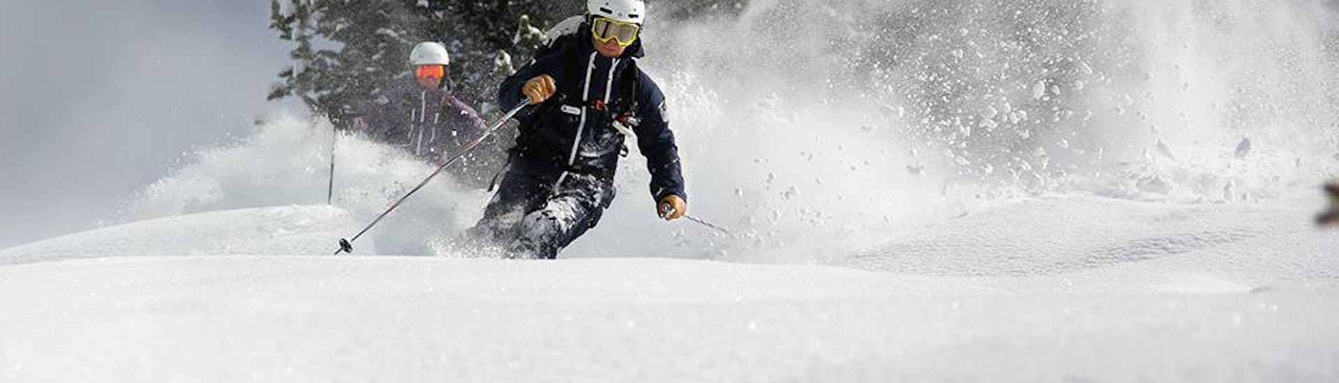 Ski Lessons Kids (11-17 years) - All Start Times - Advanced with European Snowsport Verbier - Hero image