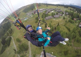 Tandem Paragliding over Lake Ossiach - Panoramaflight
