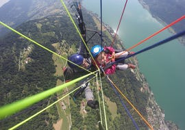Tandem Paragliding over Lake Ossiach - Actionflight