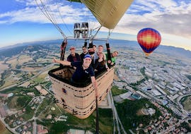 """Balloon Ride """"Traditional"""" with Transfer from Barcelona"""