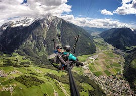 Tandem Paragliding in Campo Tures from Acereto with Kronfly Tandem