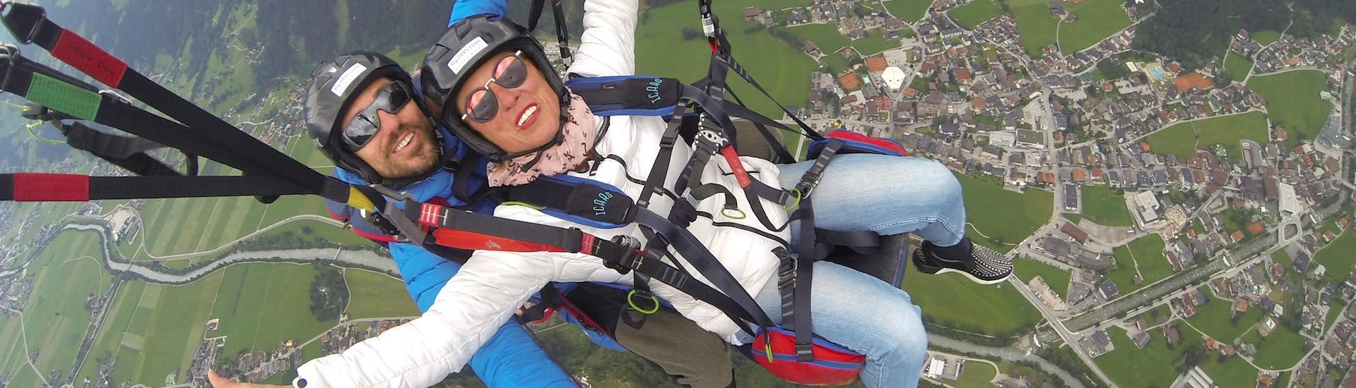 Tandem Paragliding - Hintertux