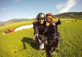 "Paragliding ""Gliding Flight"" - Plan de Corones/Monte Cuzzo"