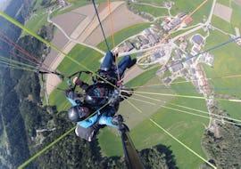 "Paragliding ""Thermic Flight"" - Plan de Corones or Mt. Cuzzo"