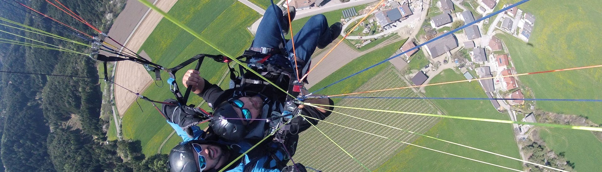 "Paragliding ""Thermic Flight"" - Plan de Corones or Mt. Cuzzo"