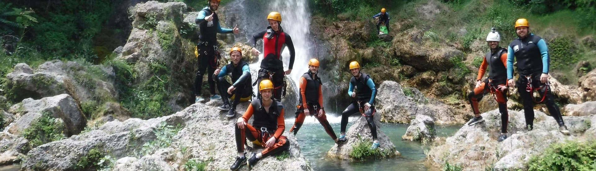 Canyoning for Beginners - Barranco Gorgo de la Escalera