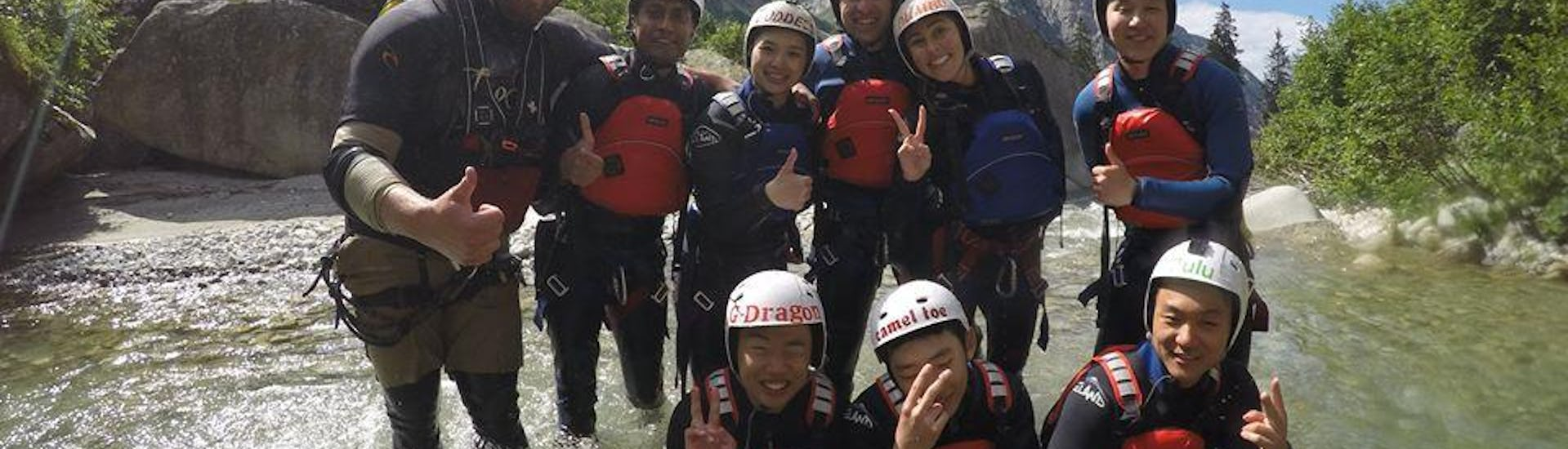 Canyoning for the Brave - Grimsel