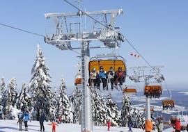 Clases de esquí privadas para adultos para todos los niveles con Ski School Klínovec