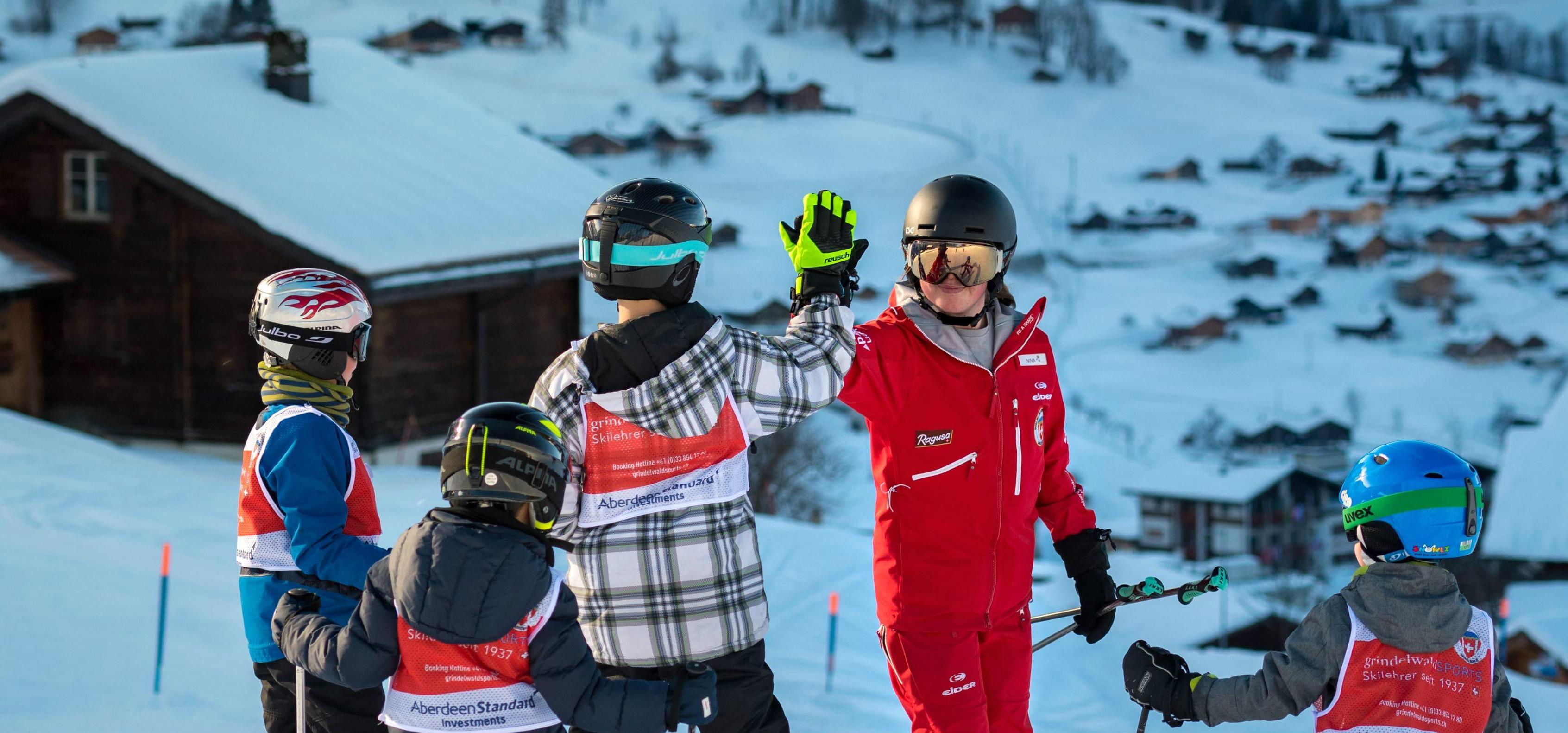 Lezioni di sci per bambini a partire da 6 anni per principianti