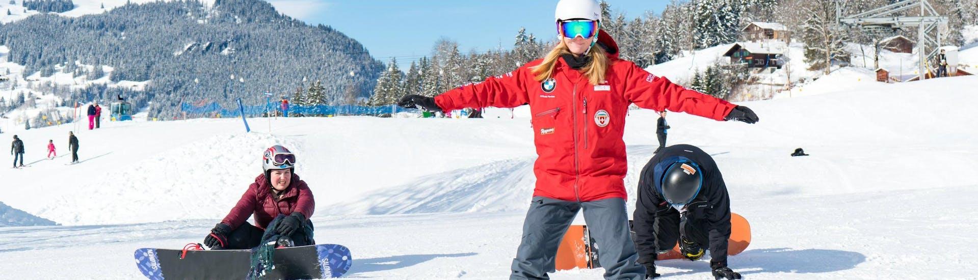 Curso de snowboard privado para todos los niveles
