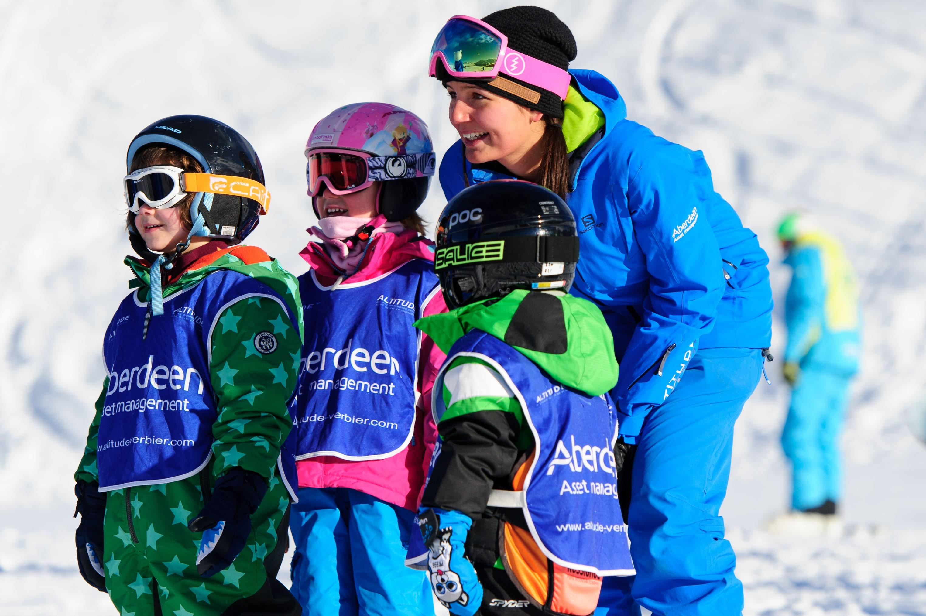 Cours de ski Enfants (6-15 ans) pour Tous niveaux