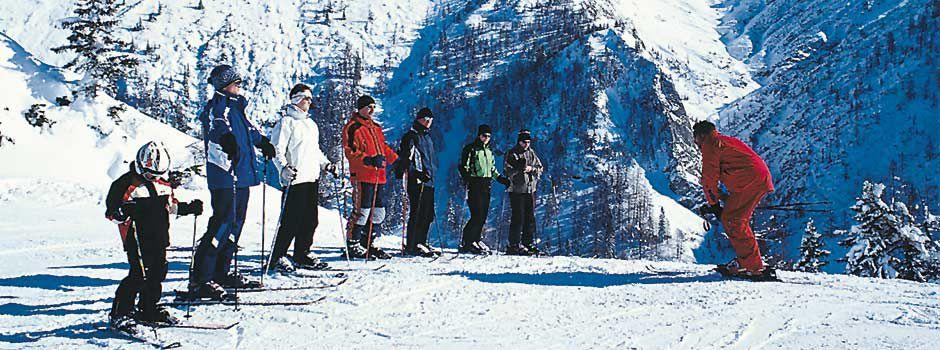 Clases de esquí para adultos para todos los niveles