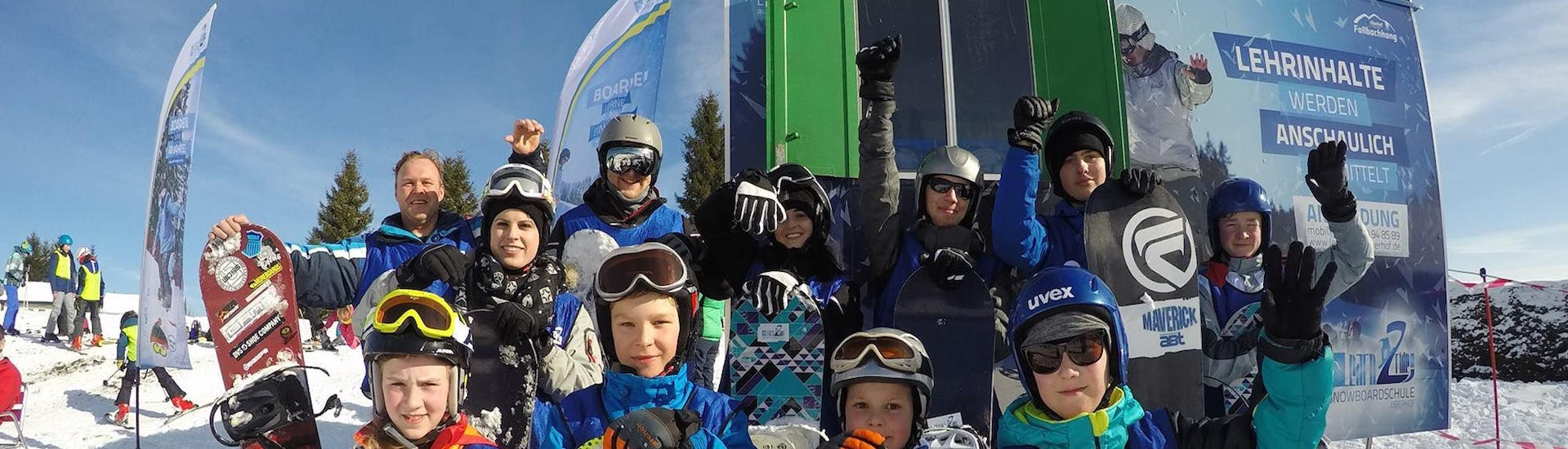 Snowboard Lessons Kids & Adults  - Beginner