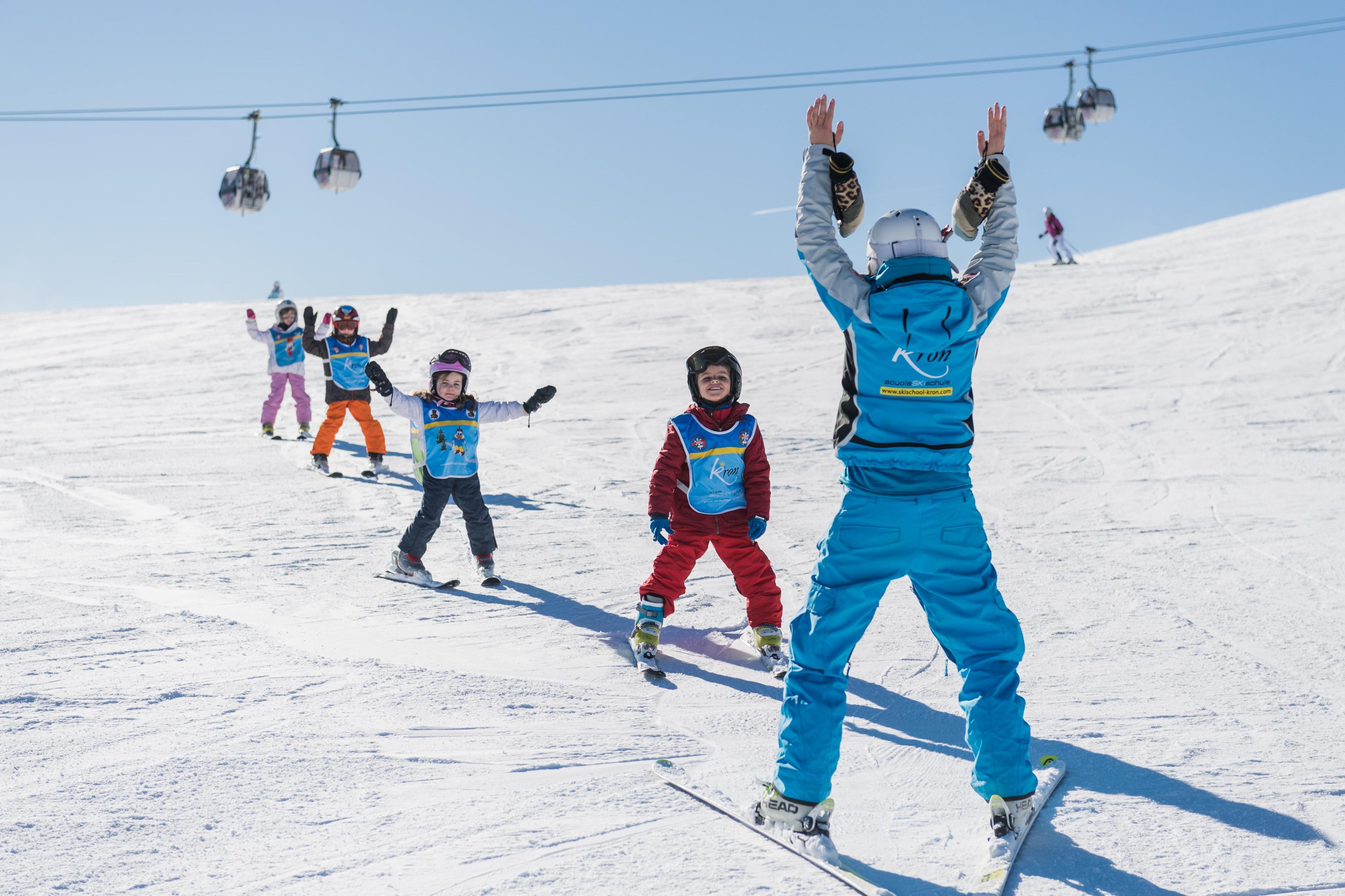 Cours de ski Enfants dès 5 ans - Avancé