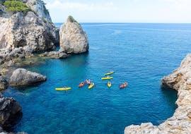 Sortie guidée en kayak aux Îles Malgrats