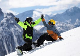 Cours de snowboard dès 6 ans pour Débutants avec Kronschool Valdaora