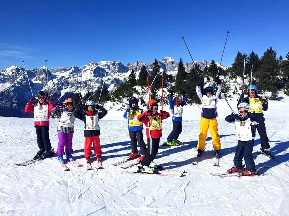 Clases de esquí para niños a partir de 6 años para avanzados