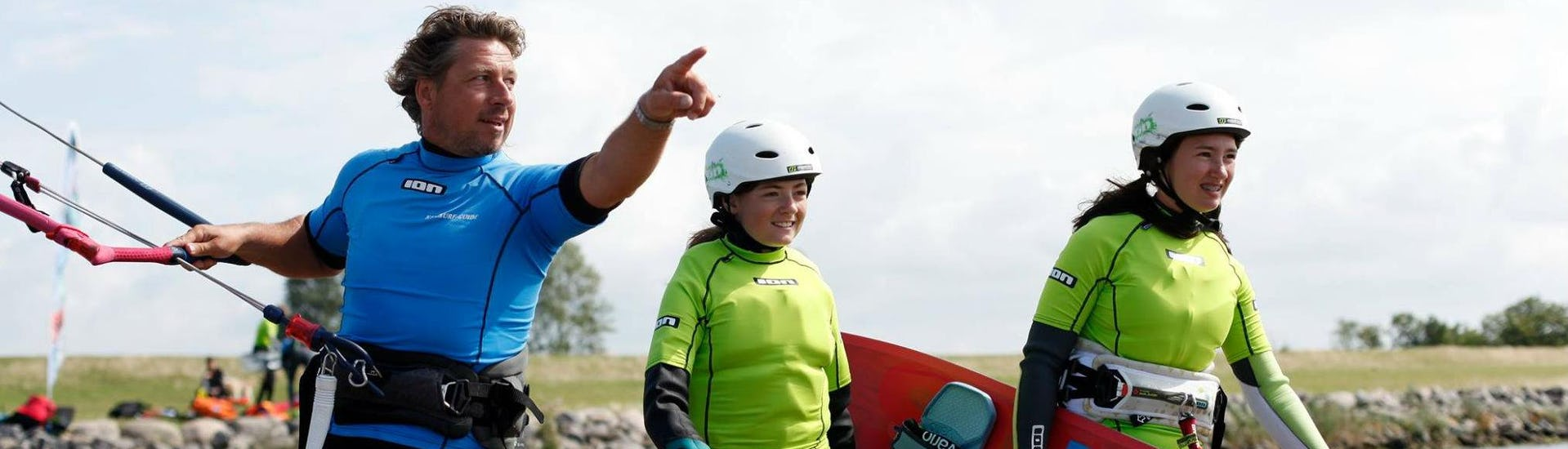 """Kitesurfing Lessons """"Refresher""""  for Kids & Adults"""