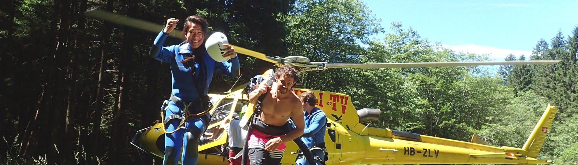 """Canyoning """"Heli-Canyon"""" for Sports People - Boggera"""