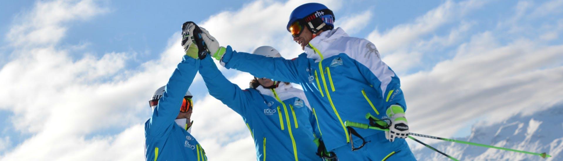 Cours de ski Enfants dès 12 ans pour Tous niveaux avec Silvaplana Top Snowsports - Hero image