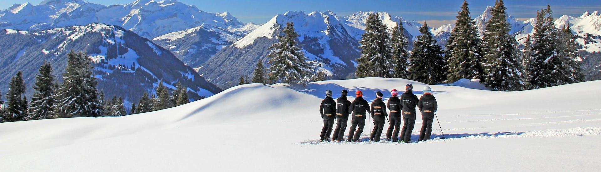 Cours particulier de ski Enfants pour Tous âges - Journée