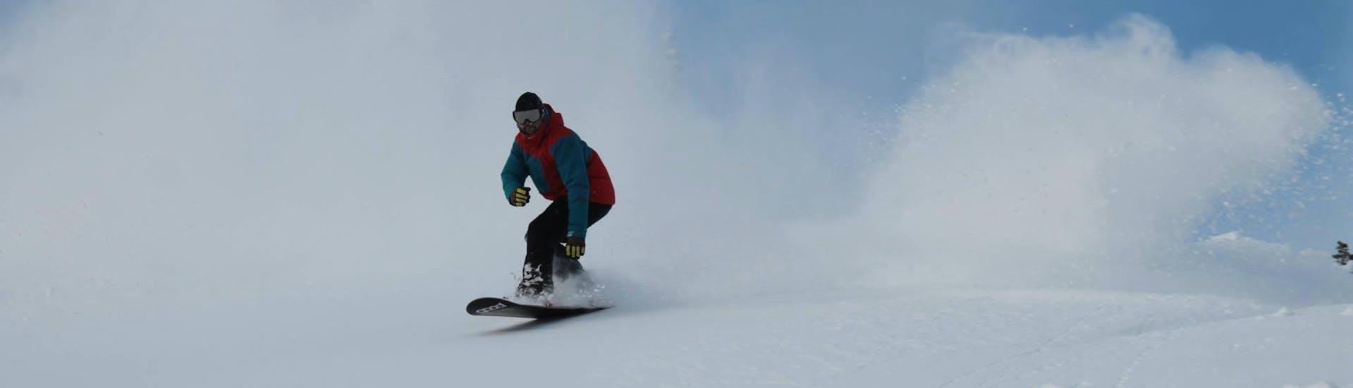 Snowboardlessen - licht gevorderd
