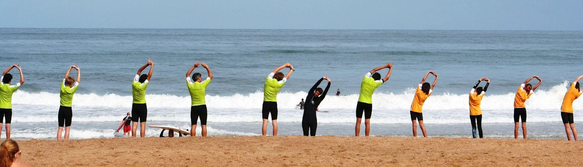 Private Surfing Lessons - Marinella Beach - Anglet