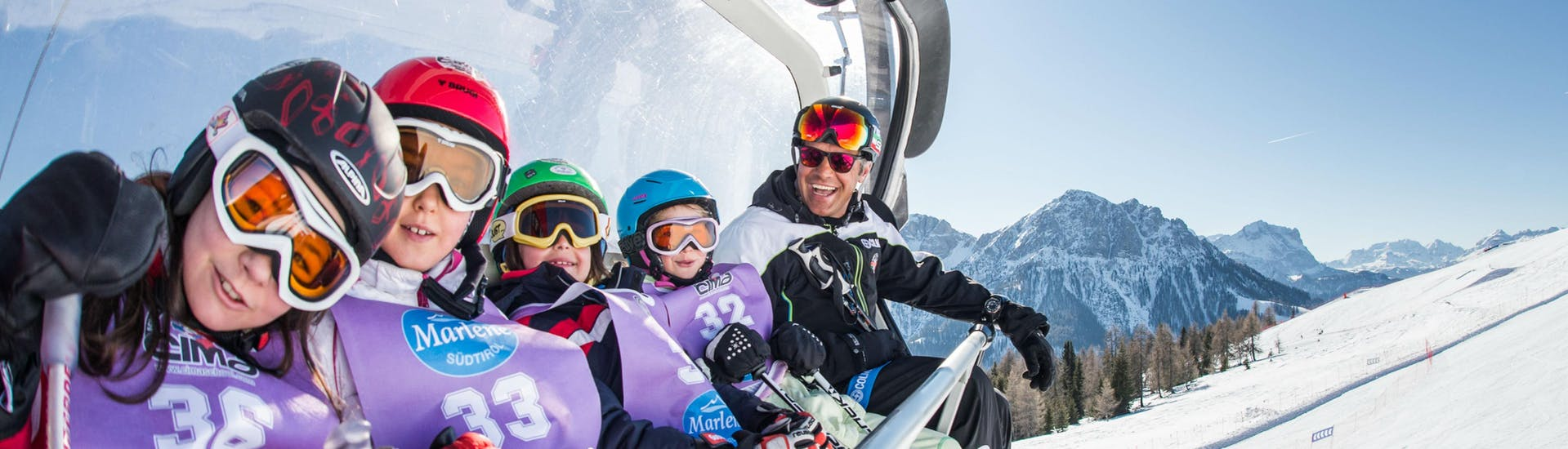 Full-Day Kids Ski Lessons (4-12 y.) for All Levels