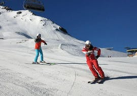 Private Ski Lessons for Adults in Nauders