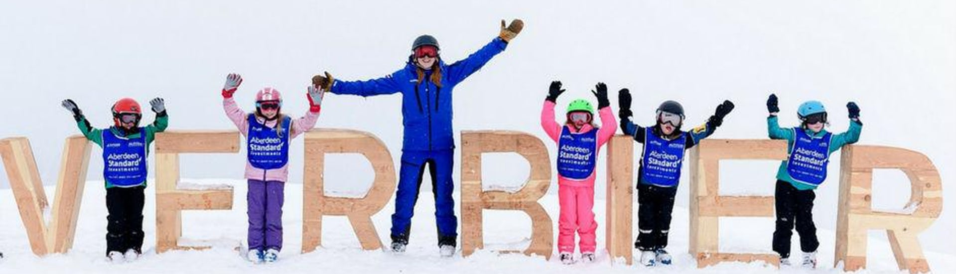 Ski Lessons for Kids (6-15 years) - All Levels