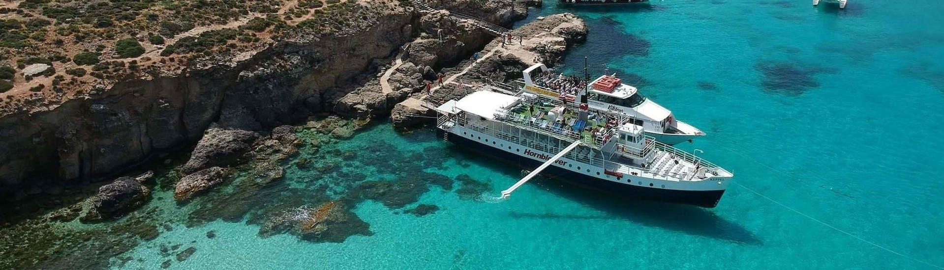 Boat Trip to Comino incl. Blue Lagoon & Santa Maria Caves