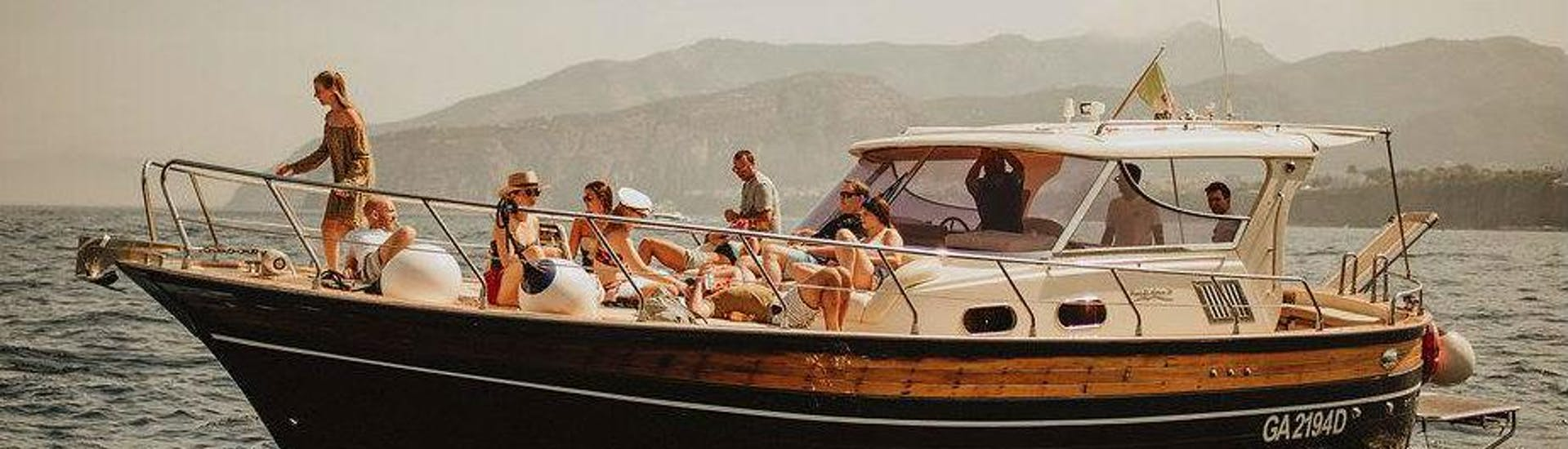 Boat Trip from Sorrento to Capri for Small Groups