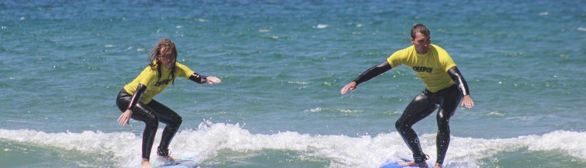 Surfkurs mit Transfer nach Matosinhos - Alle Levels