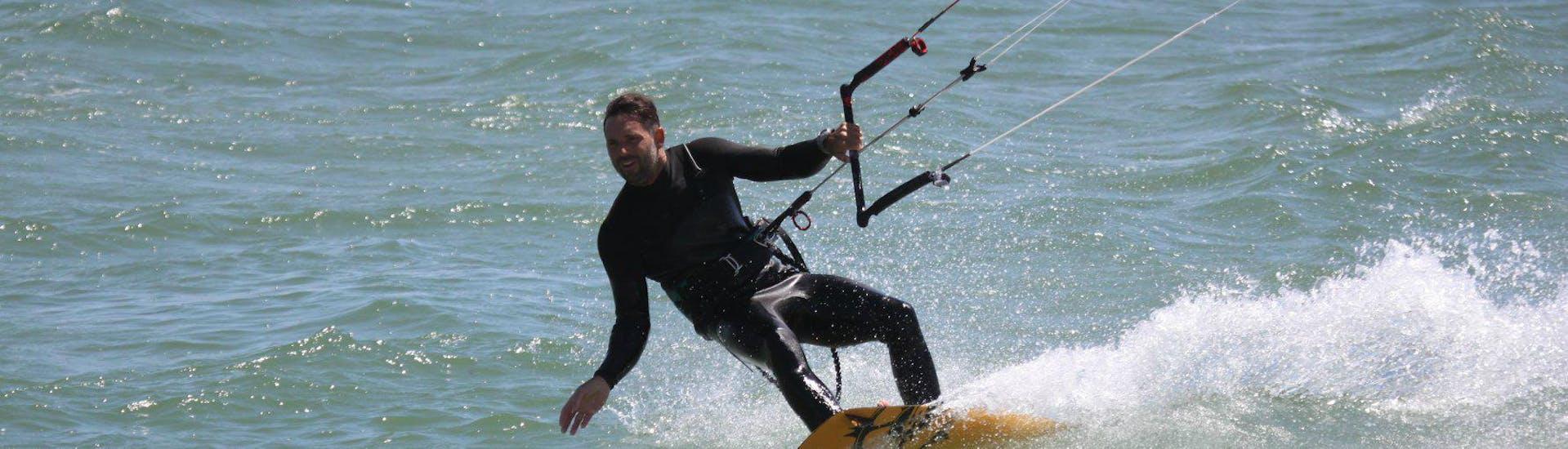 Private Kitesurfing Lessons (from 7 y.) at Lister Ellenbogen