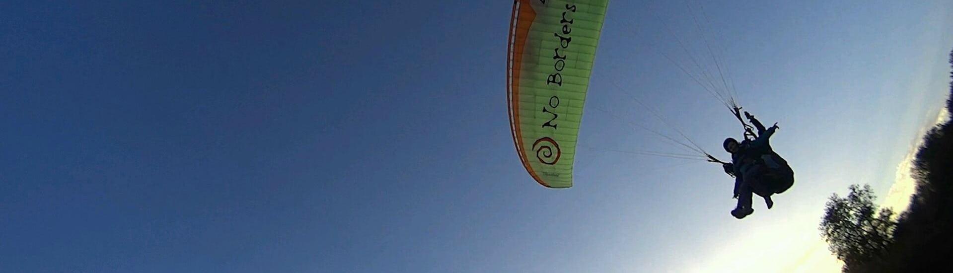 Tandem Paragliding over Lake Trichonida